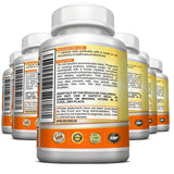 High Potency Sunshine Vitamin D3 5000 iu Per Veggie Capsule - 6 Bottles