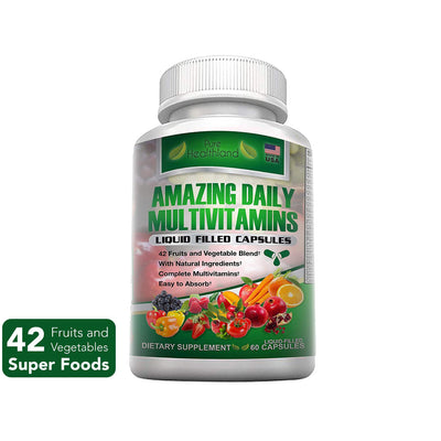 Superfood Daily Multivitamin Capsules - Pure Healthland