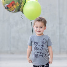 Three-Rex - Dinosaur Birthday Shirt