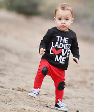 The Ladies Love Me, Valentines Shirt, Boys Valentines Shirt, Valentine Shirt for Boys, Boys Valentines Day, Valentines Boys Shirt, Valentine