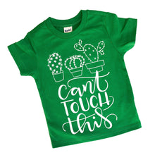 Can't Touch This-LuLusLovelyTs-cactus shirt-cactus-tshirt-desert-summer-Arizona-cute-toddler-boy