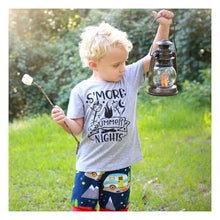 s'mores shirt-s'more-smore-summer-S'More Summer Nights-LuLusLovelyTs-camping-campfire-shirt-tshirt
