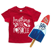 Anything is Popsicle-LuLusLovelyTs-Popsicle Shirt-Popsicle-Summer-Tshirt-Kids-Baby-Toddler-Shirt