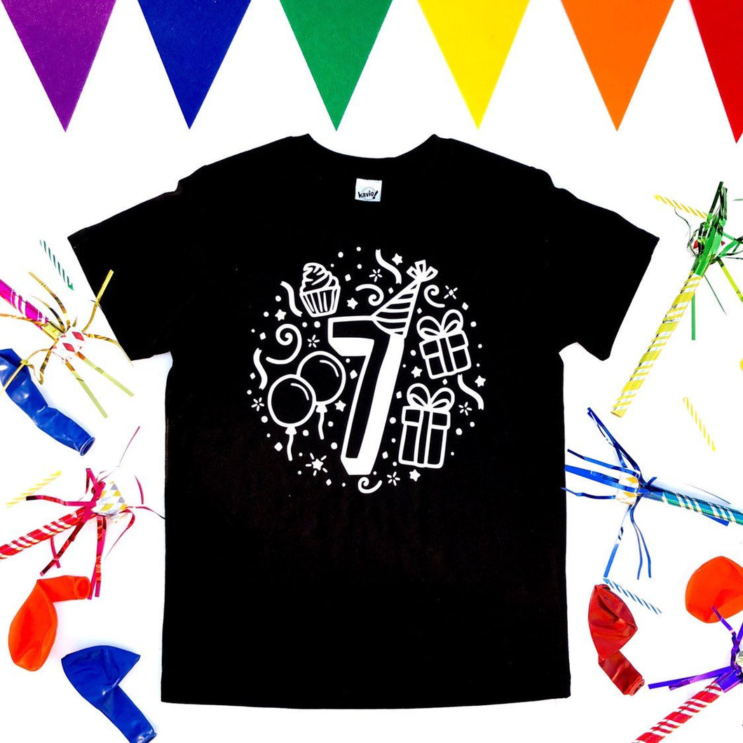 Seventh Birthday Shirt
