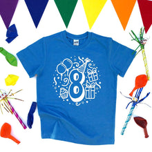 Eighth Birthday Shirt