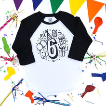 Sixth Birthday Shirt
