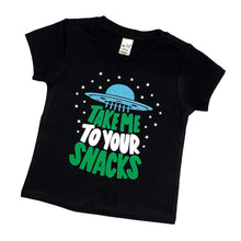 Take me to your snacks - space shirt - astronaunt shirt - ufo shirt - snacks shirt - snacking tshirt - alien tshirt - kids space shirt