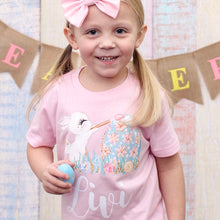 Bunny Shirt - Personalized Bunny Shirt - Bunny shirt for easter - girls easter shirt - personalized easter shirt - girls easter tshirt