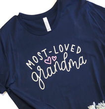 Most loved grandma - mother's day gift - grandma shirt - nana shirt - gift for grandma - grandparents day - grandmother tshirt - shirt grams