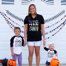 will trade brother for candy - will trade sister for candy - matching shirts - halloween shirts for family - matching halloween shirts