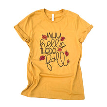 why hello there fall - fall bucket list shirt - fall shirt - fall tshirt - fall shirt - fall leaves shirt - shirt for fall - autum shirt