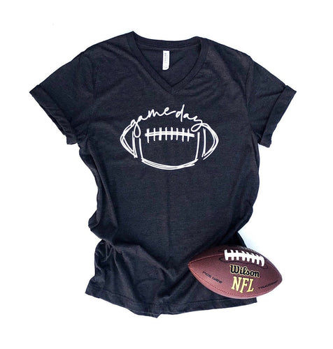 football shirt - football mom - football shirt for mom - football mom gift - game day - football sunday -womens football shirt - football