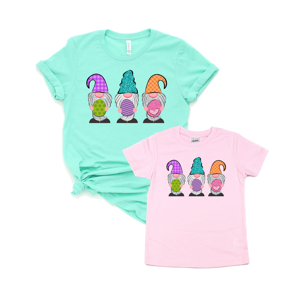 easter gnome - spring gnome - gnome shirt - gnome tshirt - matching gnome - easter gnome shirt - easter shirt - easter tshirt - mommy and me