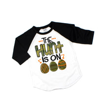 the hunt is one - boys easter shirt - sports easter shirt - camo easter shirt - boy easter shirt - easter shirt - easter tshirt - camo shirt