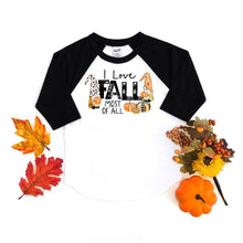 I love fall most of all - fall shirt - fall tshirt - mommy and me - matching shirt - gnome shirt - fall gnomes shirt - autumn gnomes