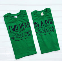 Two Peas In a Pod-LuLusLovelyTs-Matching Shirt-Sibling Shirt-Sibling Tshirt-Matching Shirts