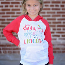 Dear Santa Just Bring Me a Unicorn