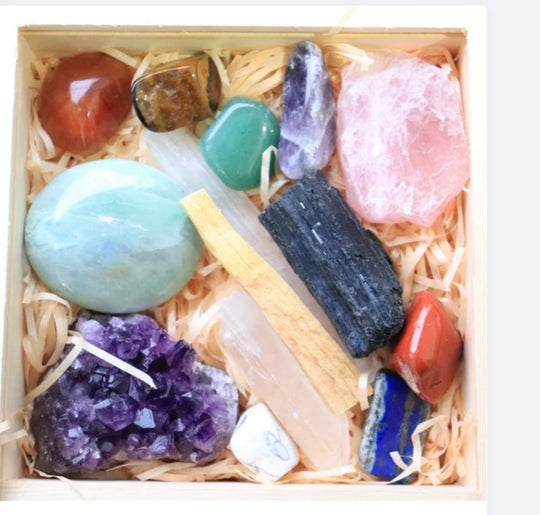 Healing Crystals Gift Sets Boxes