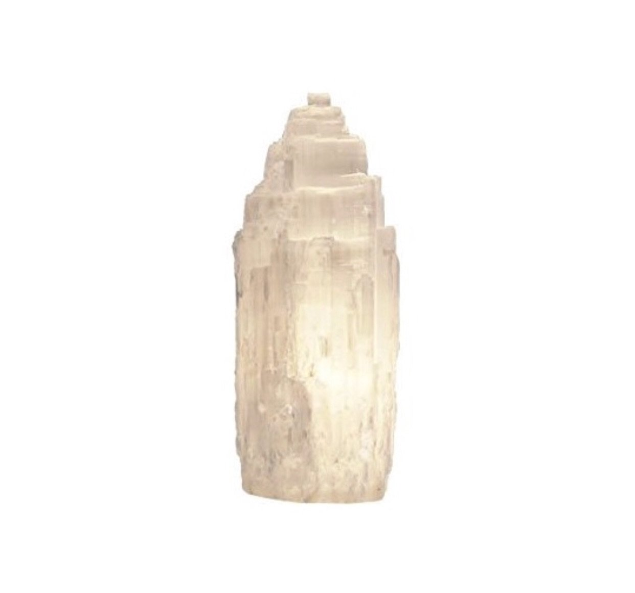 Selenite Crystal Tower Lamps - Eternal Crystals