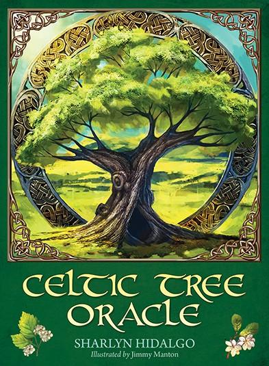 Celtic Tree Oracle by Sharlyn Hidalgo and Illustrated by Jimmy Manton