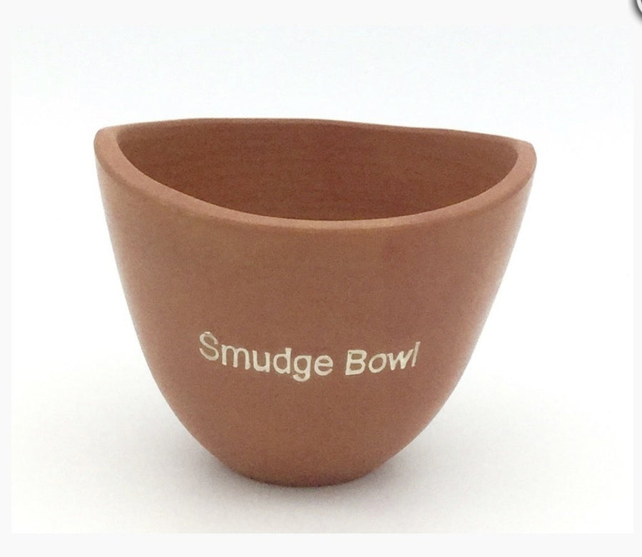 Clay Smudge Bowl (Large)