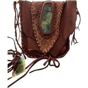 Labradorite Alligator Fuax Oracle/Tarot Bag