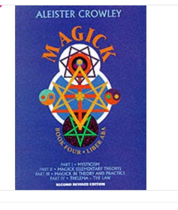 Magick Book Four Parts l-lV