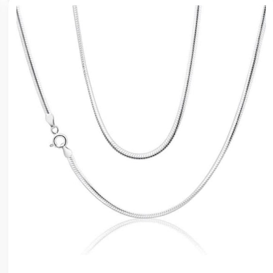 Snake Chain 925 sterling Silver