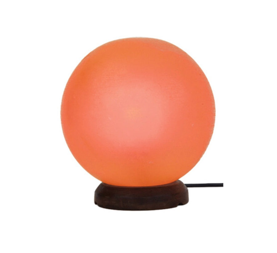 Sphere Himalayian salt Lamp