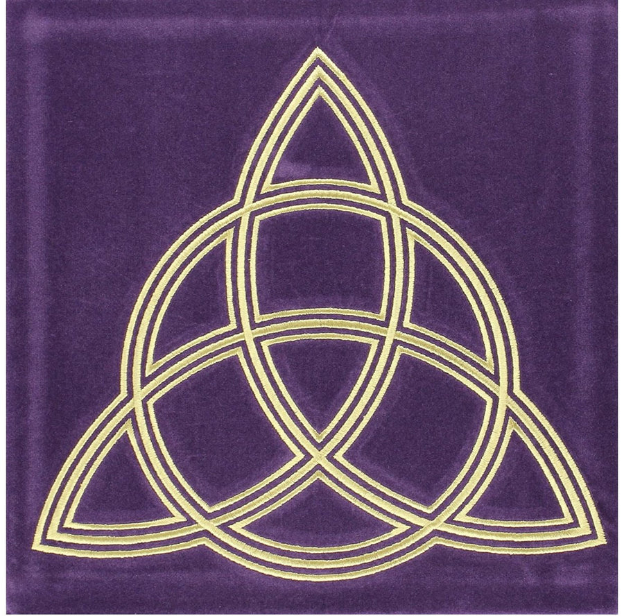 Triple Goddess Moon Altar Cloth