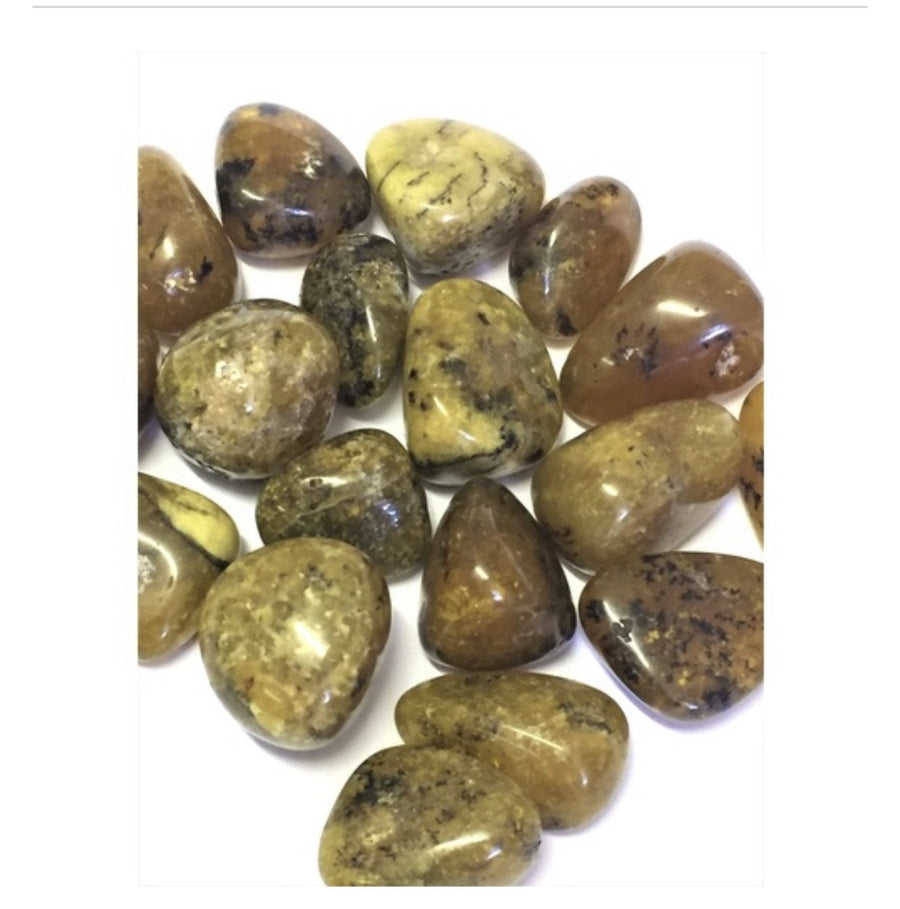 Tumble yellow opal Gemstones