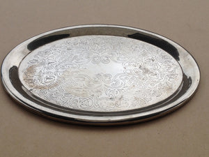 Vintage Stainless Steel Jewellery Plate