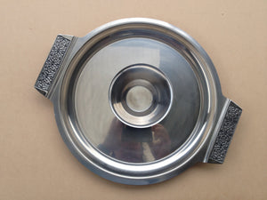 Vintage Wiltshire Entertainers Plate in Stainless Steel