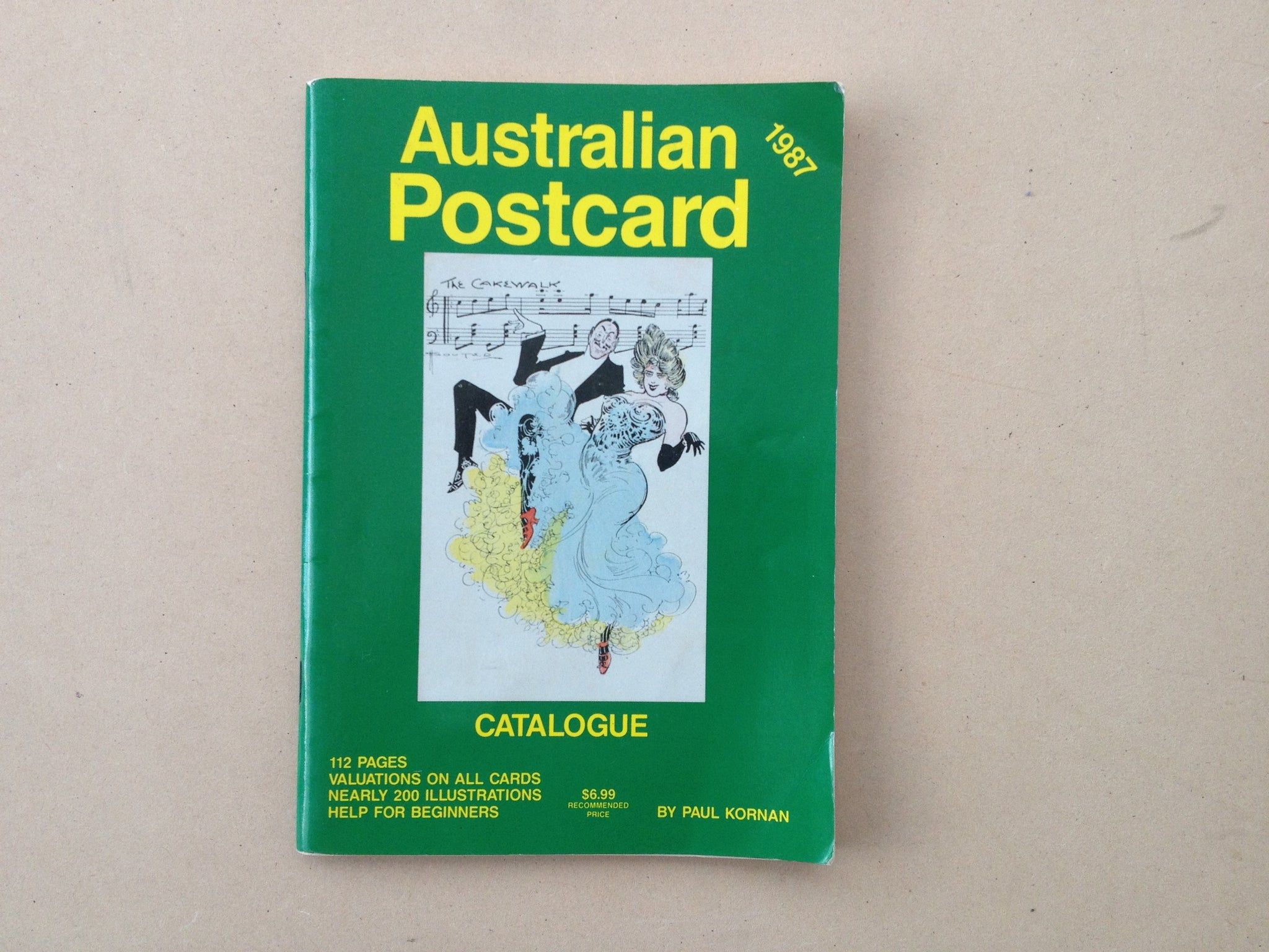 1987 Australian Postcard Catalogue by Paul Kornan