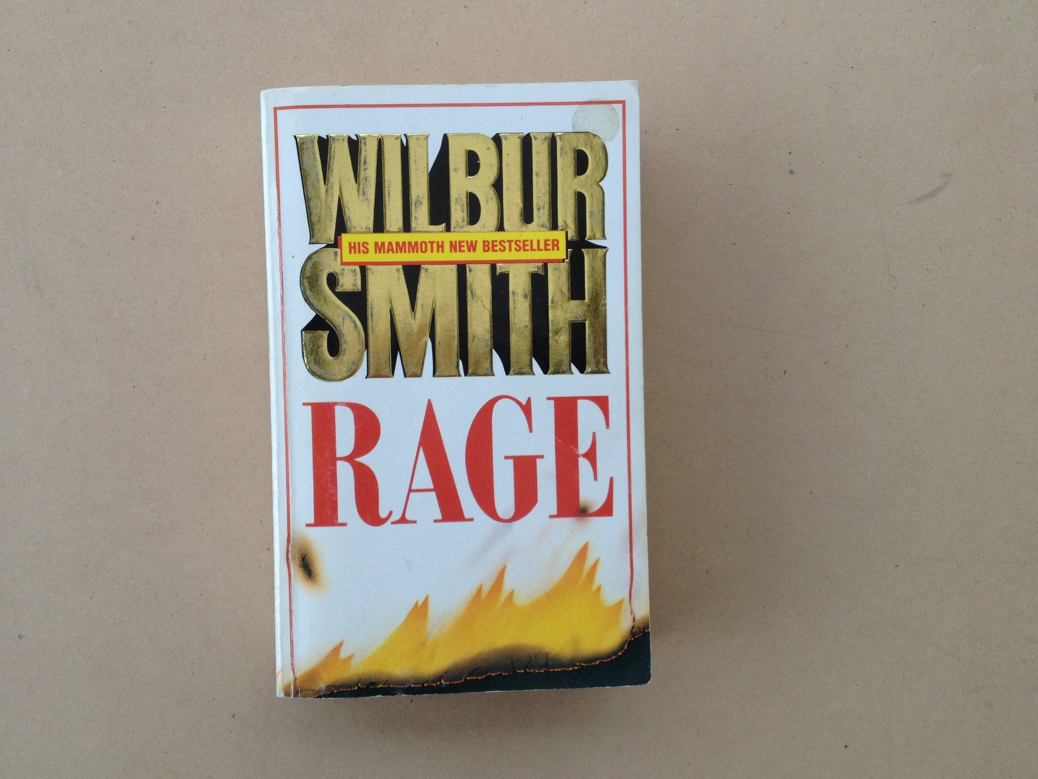 Rage by Wilbur Smith - Softcover