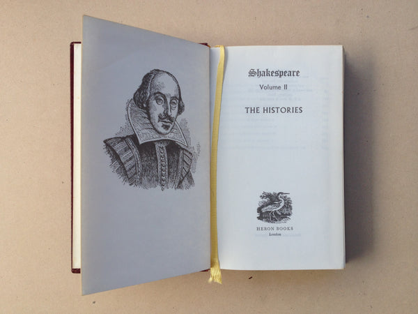 Shakespeare The Complete Works Volume II The Histories by Heron Books London