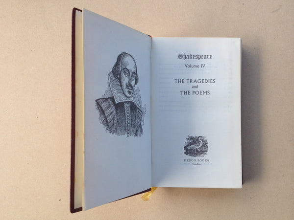 Shakespeare The Complete Works Vol IV The Tragedies and The Poems