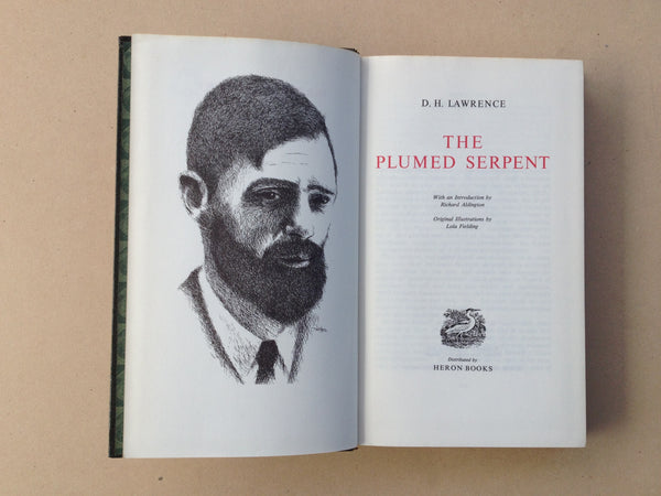 DH Lawrence Complete Works The Plumed Serpent by Heron Books London