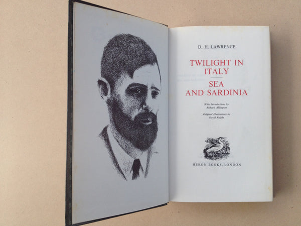 DH Lawrence Complete Works Twilight in Italy - Sea and Sardinia by Heron Books London