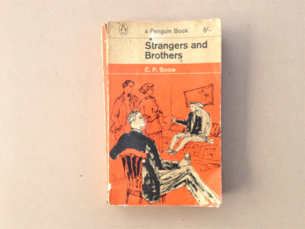 A Penguin Book Strangers and Brothers by CP Snow