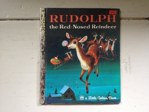 a Little Golden Book Rudolph the Red Nosed Reindeer