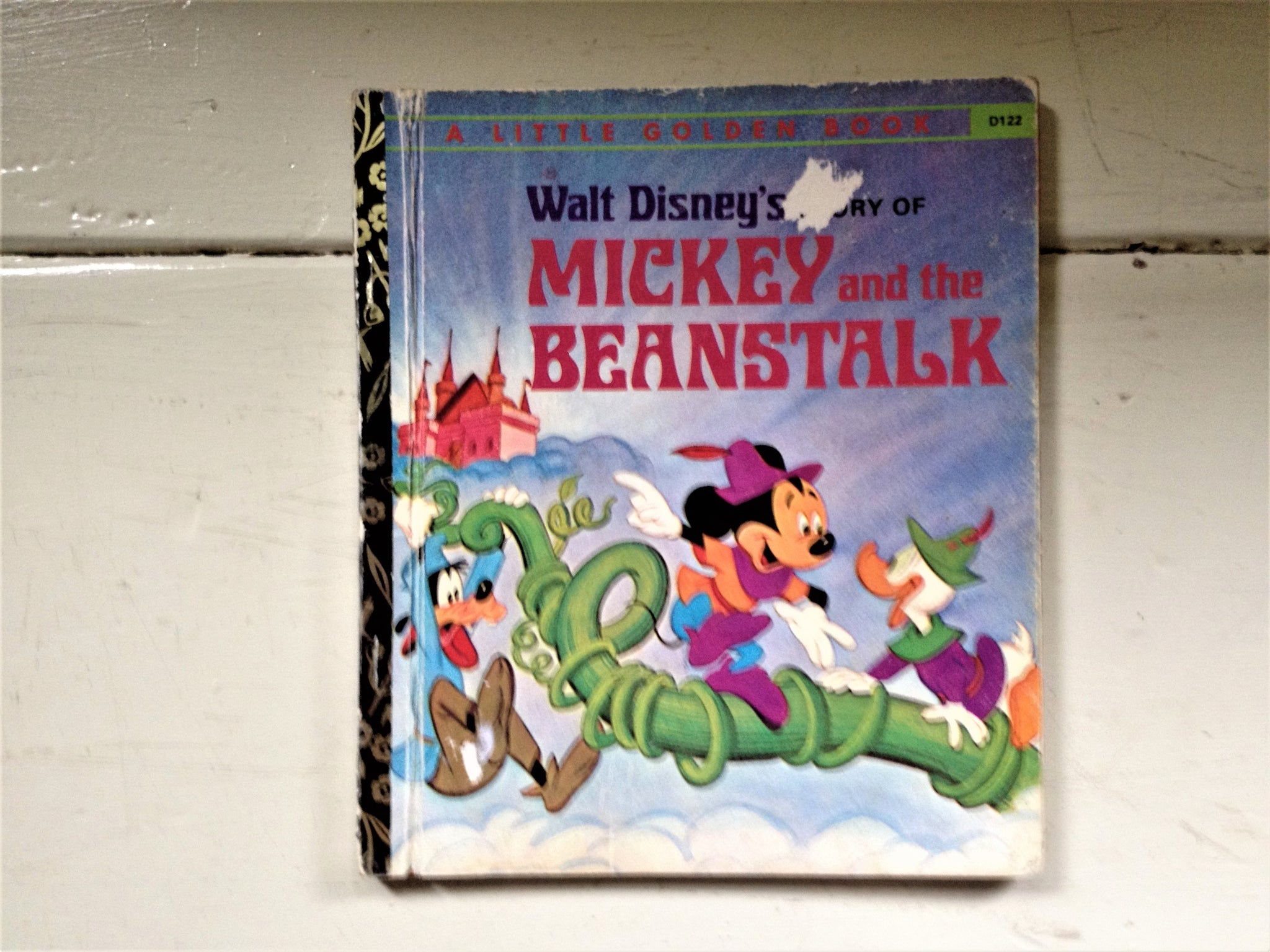 a Little Golden Book Mickey and the Beanstalk