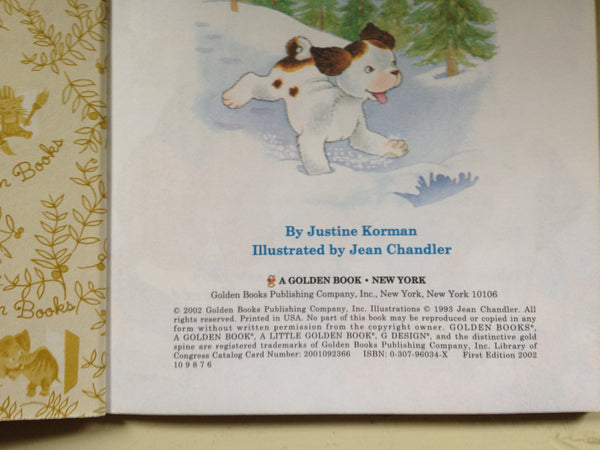 a Little Golden Book The Poky Little Puppy's First Christmas