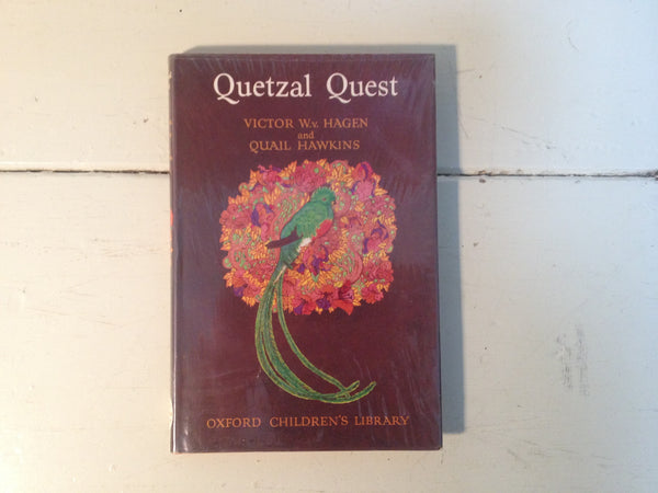 Quetzal Quest by Victor W.v. Hagen and Quail Hawkins