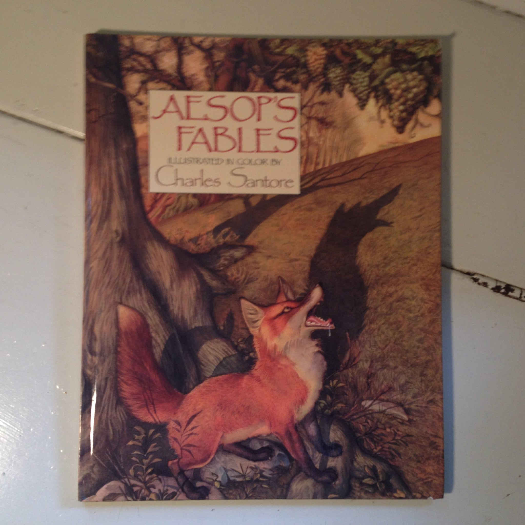 Aesop's Fables Illustrated in Color By Charles Santore