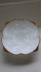 Anchor Hocking White Glass Dish