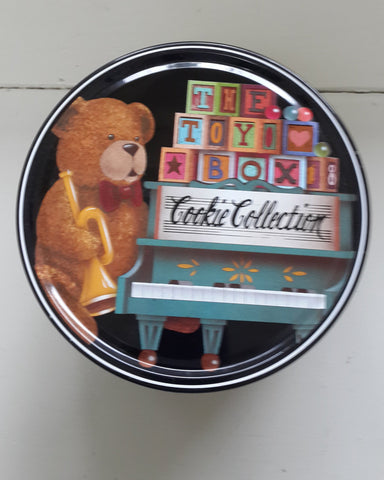 Cookie Collection Round Tin