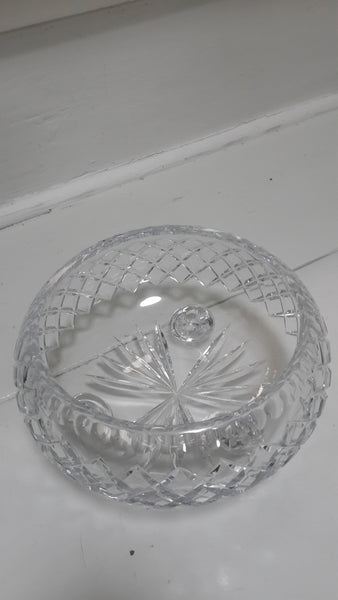 Crystal Bowl with Feet
