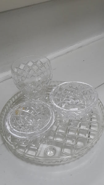 Crystal Dresser Set