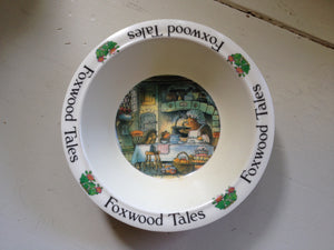 Foxwood Tales The Echidna Family Melamine Bowl